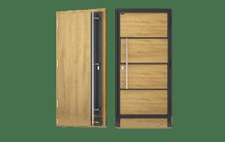 Zewnętrzne drzwi NOVA firmy Wiśniowski