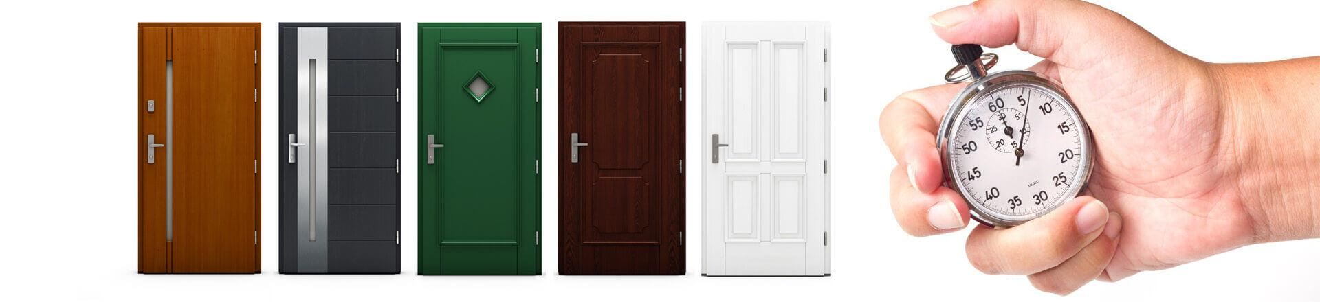 Miej drzwi Cal w dwa tygodnie