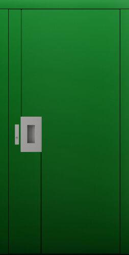 Zielone drzwi CAL