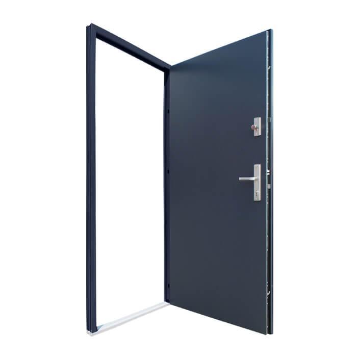 Drzwi z górnym zamkiem