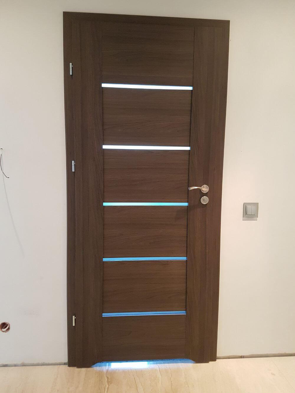 Drzwi wewnętrzne w domu