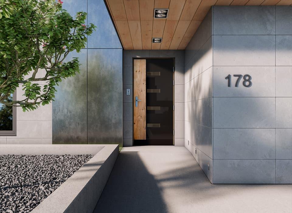 Drzwi zamontowanie w domu