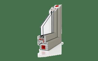 PVC okna Wiśniowski