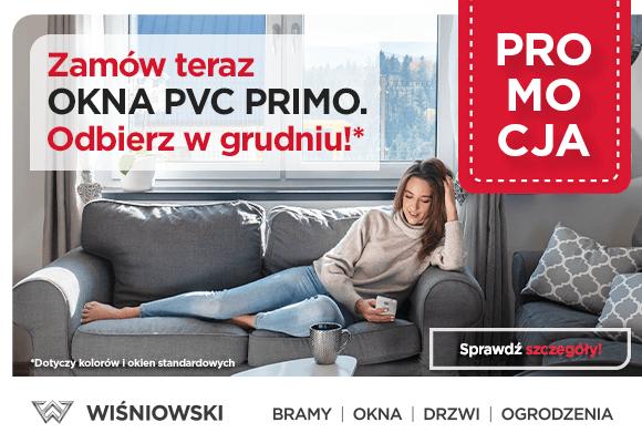 Promocja na okna Wiśniowski PVC