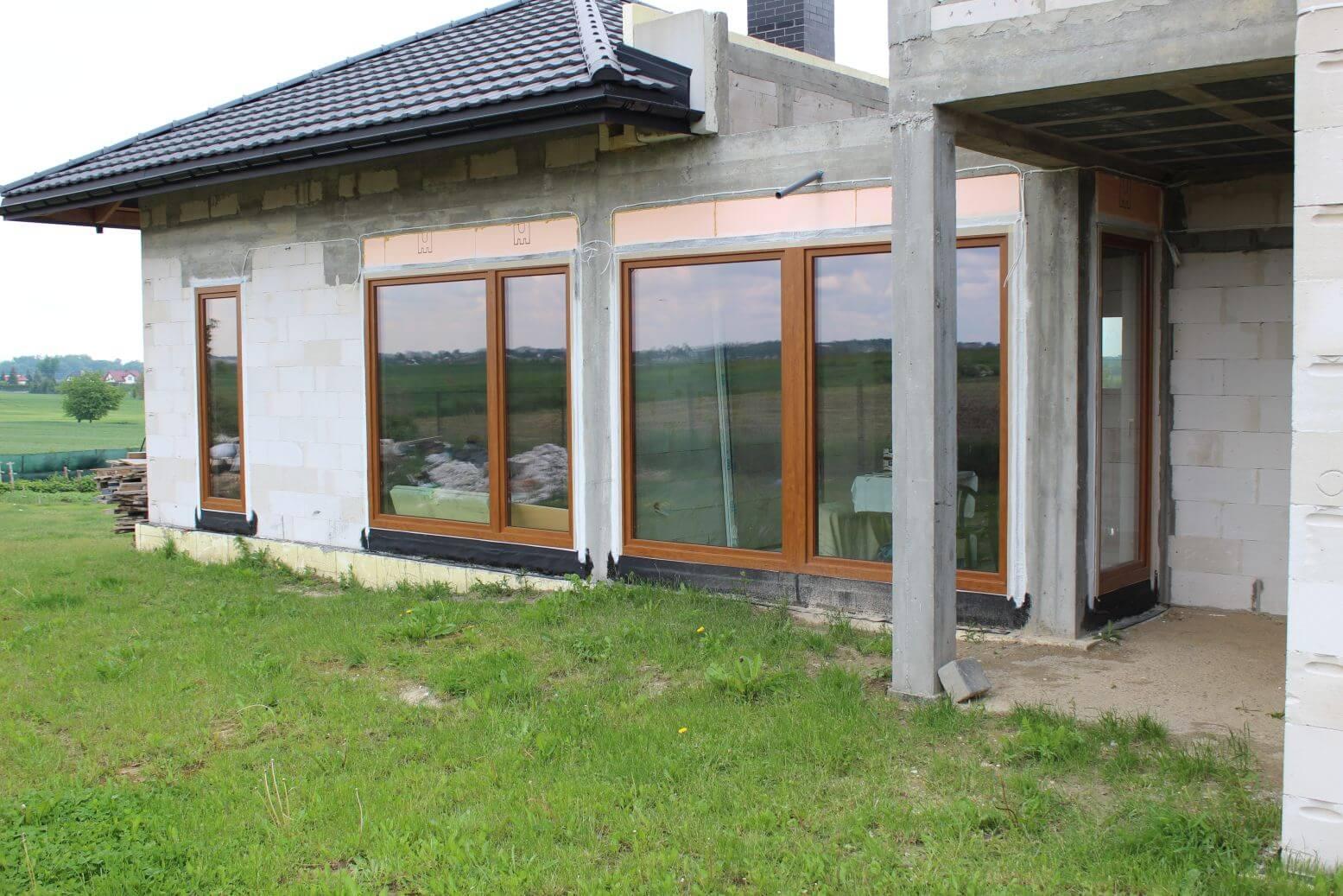 sciana poludniowa okna intermo