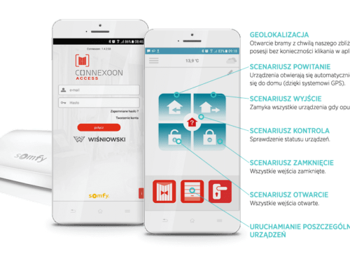 smartCONNECTED Connexoon® – WISNIOWSKI powered by Somfy