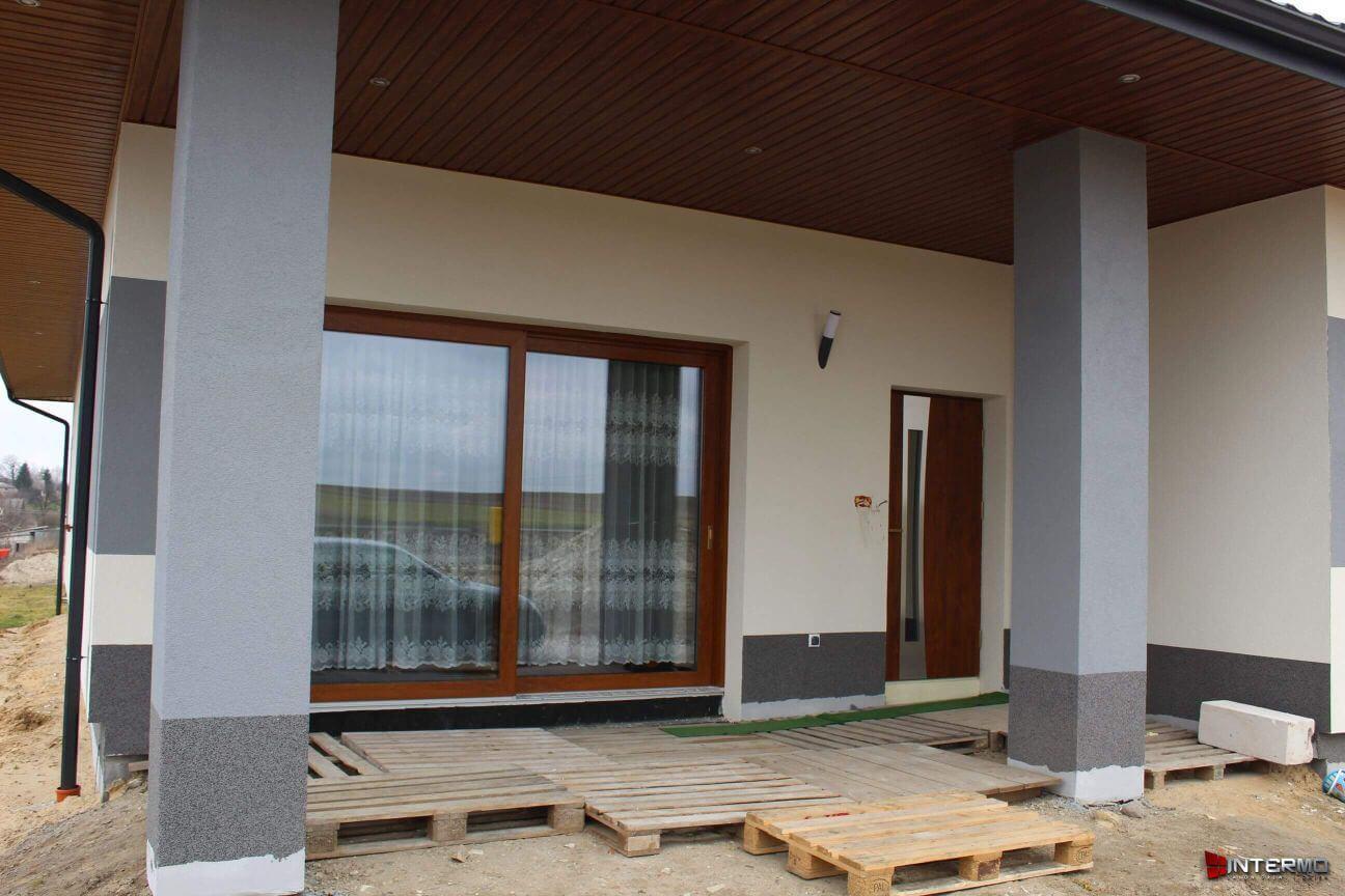 Piekne drzwi tarasowe